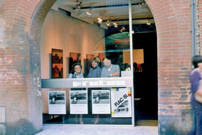 Dans la galerie Protée à Toulouse